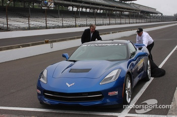 The new Corvette pace car