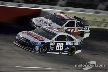 Dale Earnhardt Jr. and Denny Hamlin