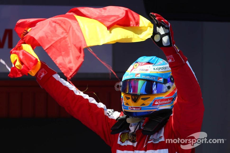 1st place Fernando Alonso, Ferrari F138