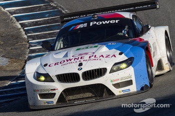 #56 BMW Team RLL BMW E92 M3: Dirk Müller, John Edwards