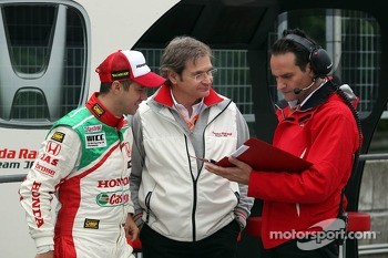 Tiago Monteiro, Honda Civic Super 2000 TC, Honda Racing Team Jas and Alessandro Mariani, Team Principal, Honda Racing Team Jas