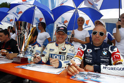 Franz Engstler, BMW E90 320 TC, Liqui Moly Team and Tom Coronel, BMW E90 320 TC, ROAL Motorsport