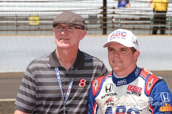 Derek Daly and son Conor Daly