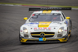 #23 Rowe Racing Mercedes-Benz SLS AMG GT3 (SP9): Lance David Arnold, Alexander Roloff, Thomas Jäger, Jan Seyffarth