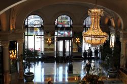 Inside the Hotel de Paris