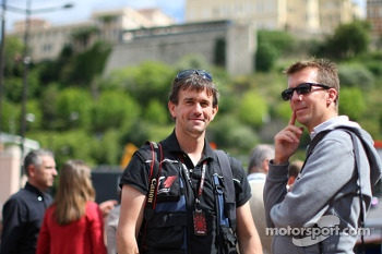 (L to R): Russell Batchelor, XPB Images Photographer with Laurent Charniaux, XPB Images Photographer
