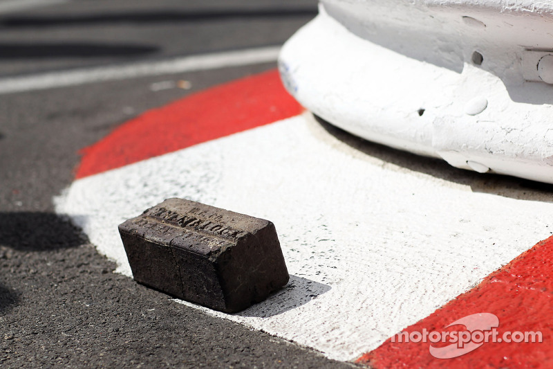An original brick presented to Will Buxton, NBS Sports Network TV Presenter by the organisers of the Indianapolis 500