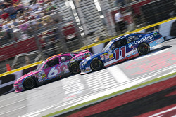 Trevor Bayne and Elliott Sadler