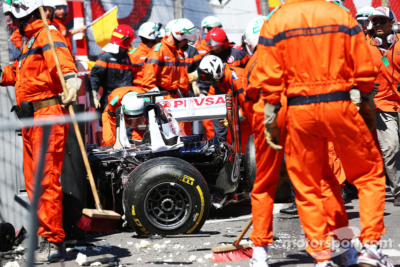 Pastor Maldonado: Grand Prix von Monaco 2013 in Monte Carlo