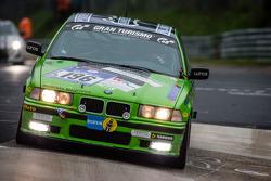 #196 Medilikke Motorsport BMW 325i (V4): Gerald Fischer, Michael Hollerweger, Stephan Lipp, Martin Niedertscheider
