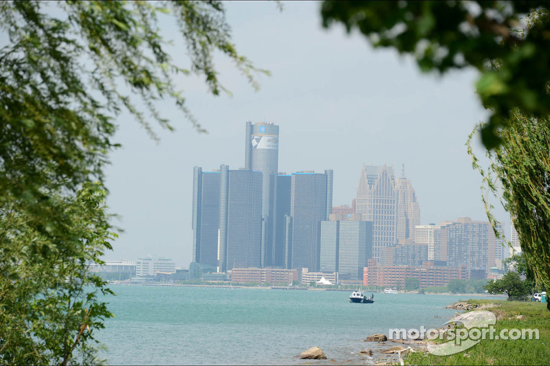 A view of Detroit