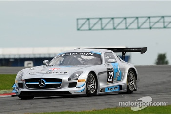 #22 Preci Spark Mercedes SLS AMG GT3: David Jones, Godfrey Jones, Morgan Jones