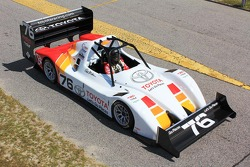 Toyota tests the TMG EV 002 ahead of Pikes Peak