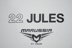 Jules Bianchi signage