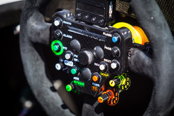 #41 Greaves Motorsport Caterham Motorsport Nissan steering wheel