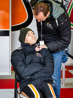 Rui Aguas with AF team boss Amato Ferrari