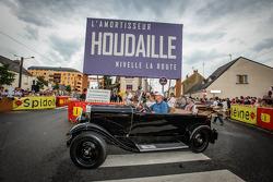 Pontlieue hairpin recreation event