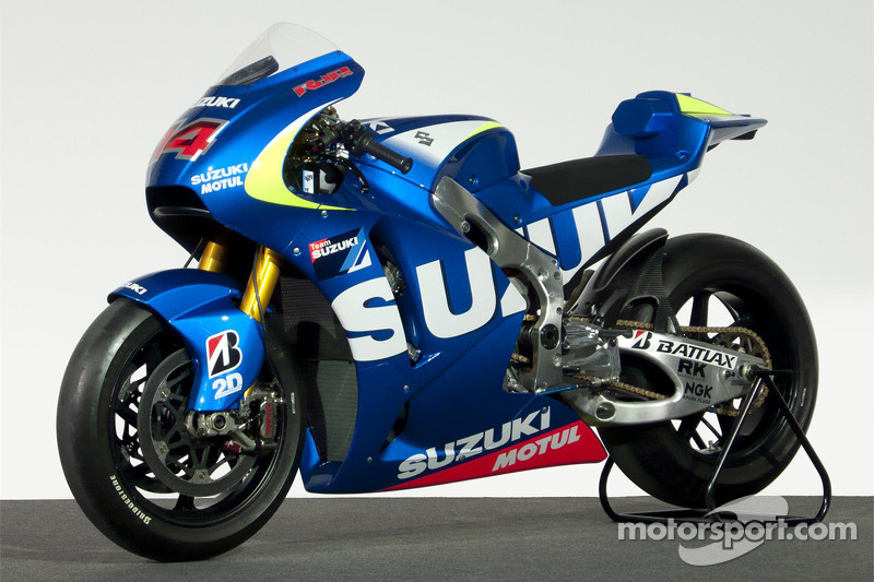 The Suzuki MotoGP prototype