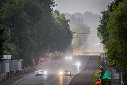 #3 Audi Sport Team Joest Audi R18 e-tron quattro: Marc Gene, Oliver Jarvis, Lucas di Grassi, #36 Signatech-Alpine Alpine A450 Nissan: Pierre Ragues, Nelson Panciatici, Tristan Gommendy