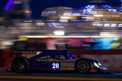 #28 Gulf Racing Middle East Lola B12/80 Coupe Nissan: Fabien Giroix, Philippe Haezebrouck, Keiko Ihara