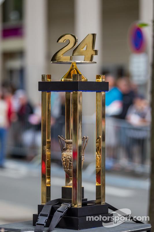 24 Hours of Le Mans Trophy at Grande Parade des Pilotes