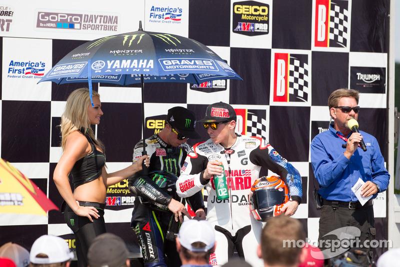 Winner Podium Superbike Race 2