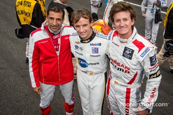 Marc Gene, Antonio Garcia and Lucas Ordonez