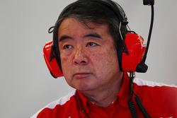 Hirohide Hamashima, Ferrari Tyre Engineer