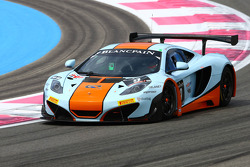 #9 Gulf Racing: Mike Wainwright, Andy Meyrick, McLaren MP4-12C