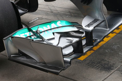 Mercedes AMG F1 W04 front wing