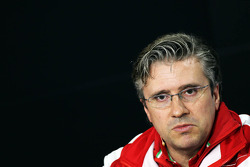 F1: Pat Fry, Ferrari Deputy Technical Director and Head of Race Engineering in the FIA Press Conference