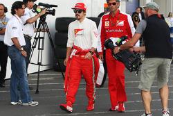 Fernando Alonso, Ferrari with Edoardo Bendinelli, Personal Trainer