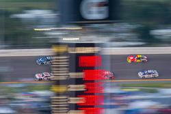 Dale Earnhardt Jr., Hendrick Motorsports Chevrolet, Aric Almirola, Richard Petty Motorsports Ford, Tony Stewart, Stewart-Haas Racing Chevrolet