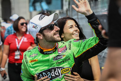 James Hinchcliffe, Andretti Autosport Chevrolet and girlfriend, Kristen Dee