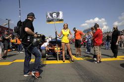 Start grid Felix Rosenqvist
