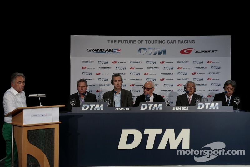 Press Conference DTM Regulation in 2017 with GRAND AM, Super GT, Jürgen Pippig, Ed Bennet, Hans Werner Aufrecht, Team Chef HWA, ITR President, Yoshiki Hiyama, JAF, Masaaki Bandoh, Chairman, GTA