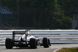 Robin Frijns, Sauber C32 Test and Reserve Driver leaves the pits