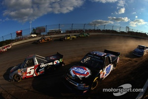 Jason Bowles and Kyle Larson