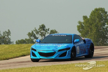 The Acura NSX prototype
