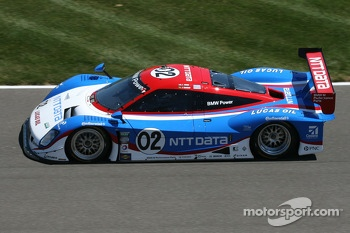 #02 Chip Ganassi Racing with Felix Sabates BMW Riley: Tony Kanaan, Joey Hand