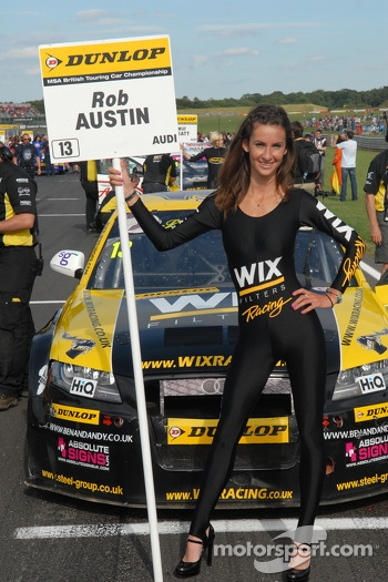 Wix Racing Grid Girl