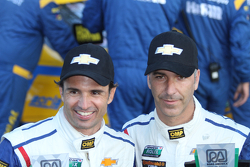 Podium: second place Christian Fittipaldi, Joao Barbosa