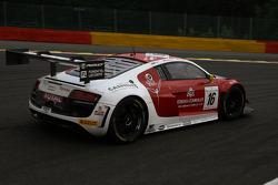 BES: #16 Phoenix Racing Audi R8 LMS Ultra: Enzo Ide, Anthony Kumpen, Markus Winkelhock
