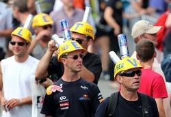 Fans of Sebastian Vettel, Red Bull Racing