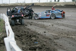 Late model crash