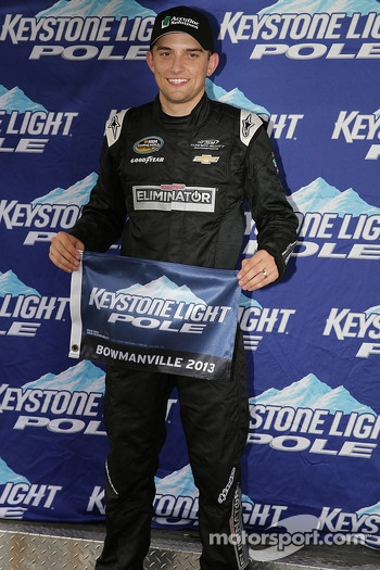 Polesitter James Buescher