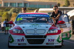 BMW 320 TC getting lined up for saturday practice
