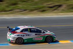 Gabriele Tarquini, Honda Civic WTCC, Honda Racing Team J.A.S.