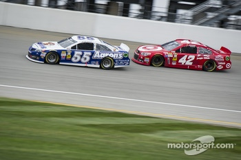 Mark Martin and Juan Pablo Montoya
