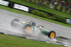 Glover Trophy race winner Andy Middlehurst, Lotus Climax 25